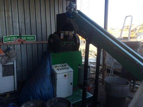 centrifuga per cavi in rame