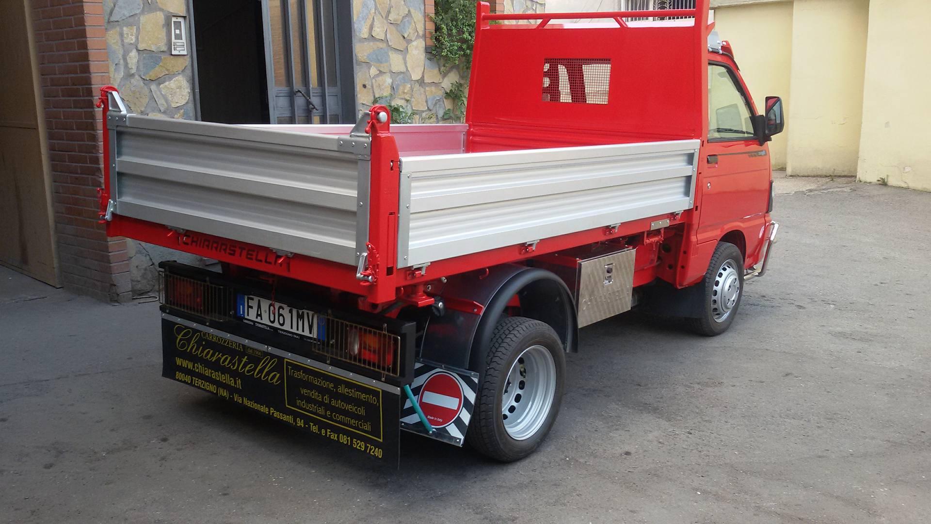 furgone rosso