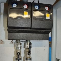 impianto per produzione acqua calda sanitaria