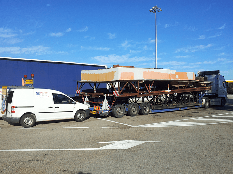 Trasporti materiale