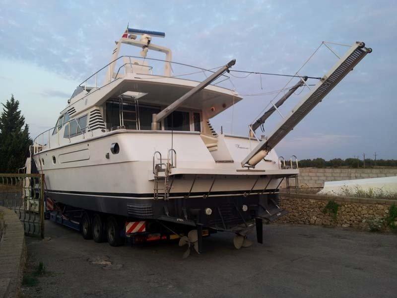 Trasporti yacht