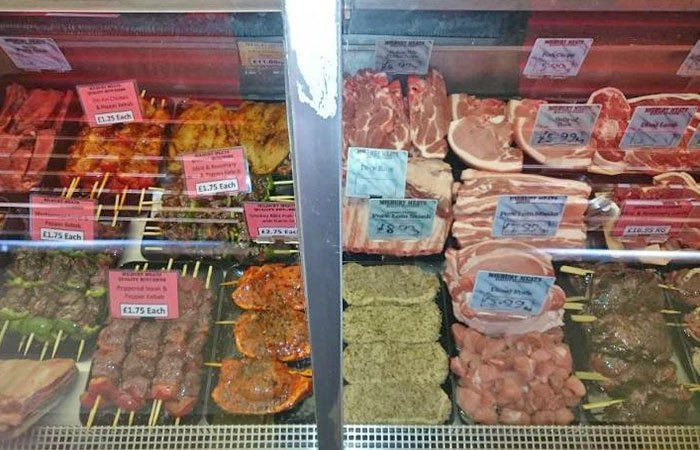 a wide range of meat products
