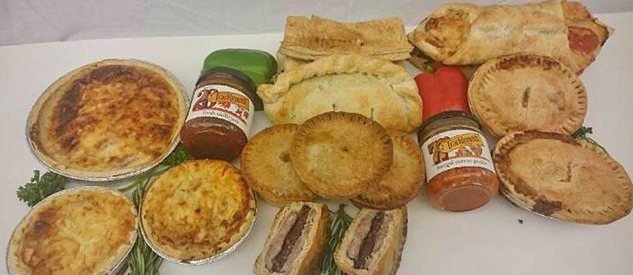 freshly baked pies