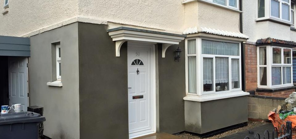 sturdy rendering using k rend in gloucestershire. Black Bedroom Furniture Sets. Home Design Ideas