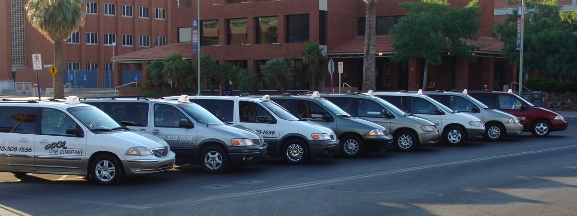Photo of the Cool Cab Company Fleet
