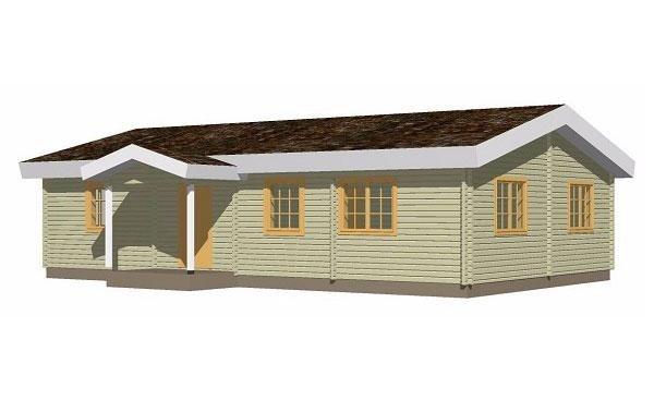 Casa in legno modello MARCELLA