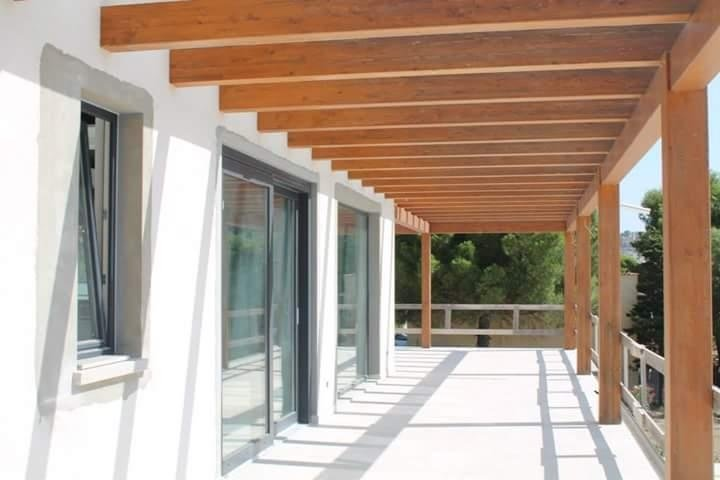 porticato legno timb frame