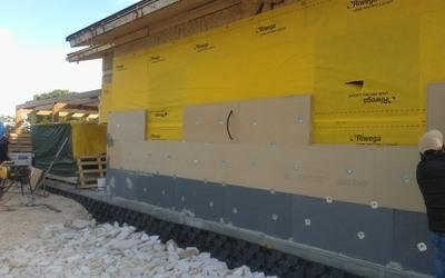 pareti esterne sistema timber