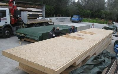 wood frame timber system for houses