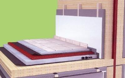 costruzione con sistema x lam