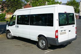 Minibus and coach hire in Merseyside
