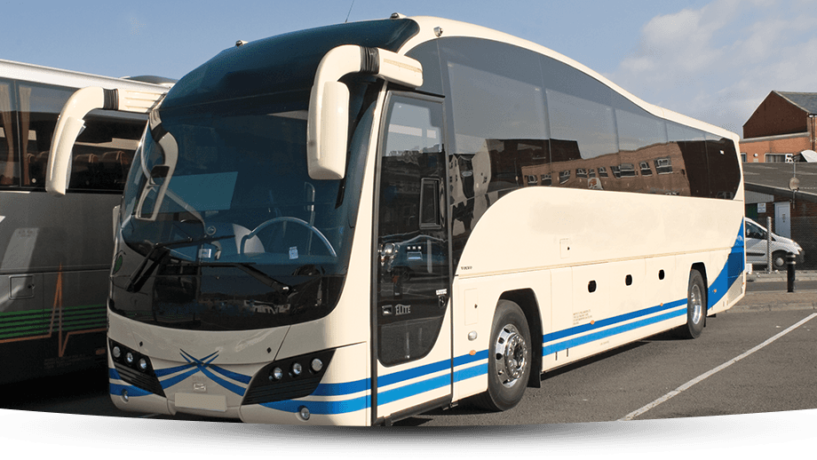 Sporting event coach hire
