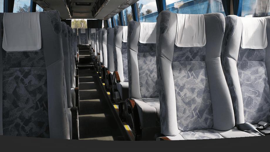 interiors or a minibus