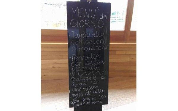 menu del giorno tre bologna