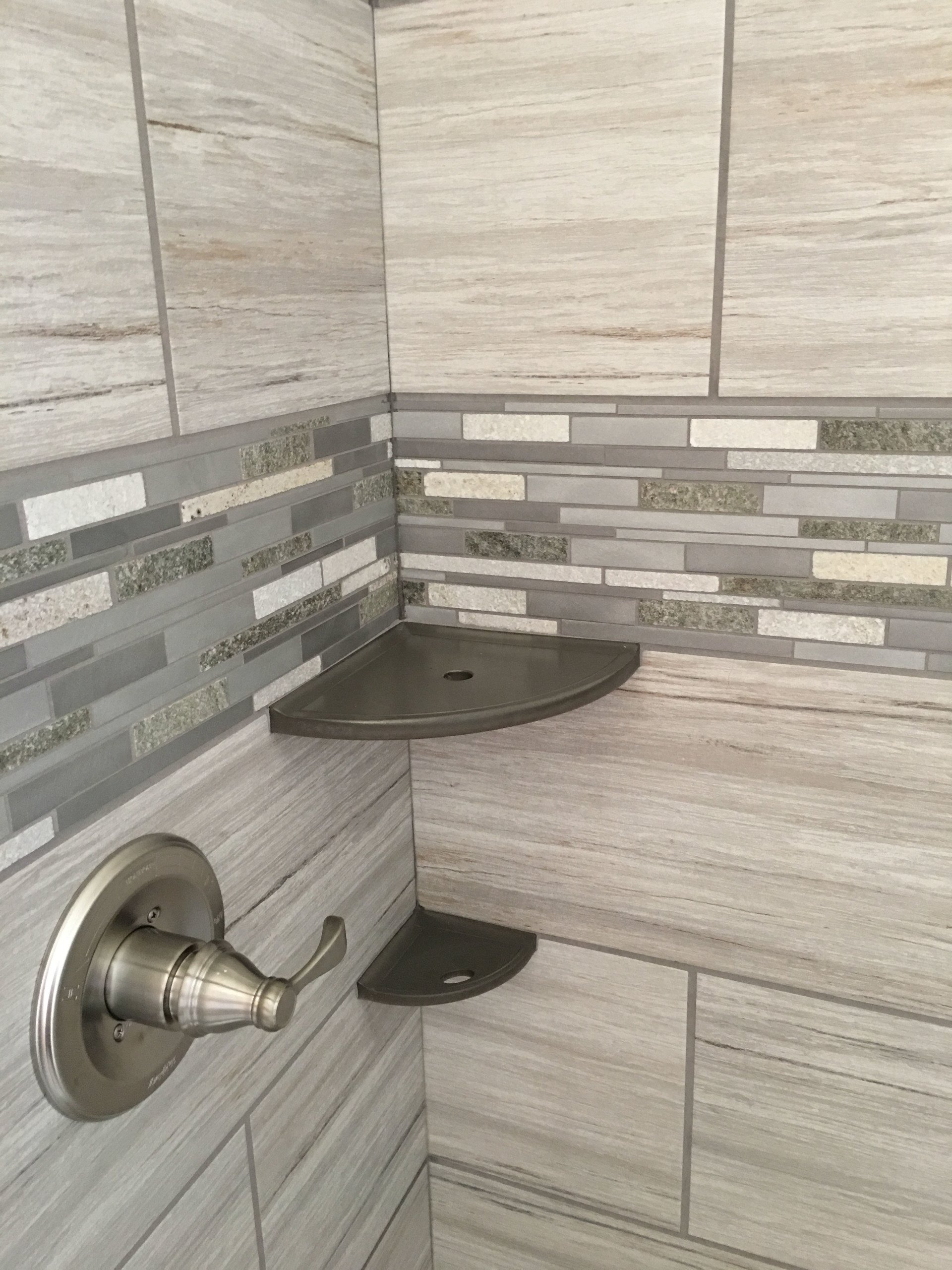 What Is The Best Height To Use For A Shower Tile Border