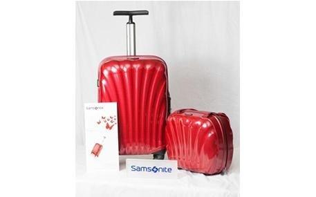 Trolley Samsonite Rosso