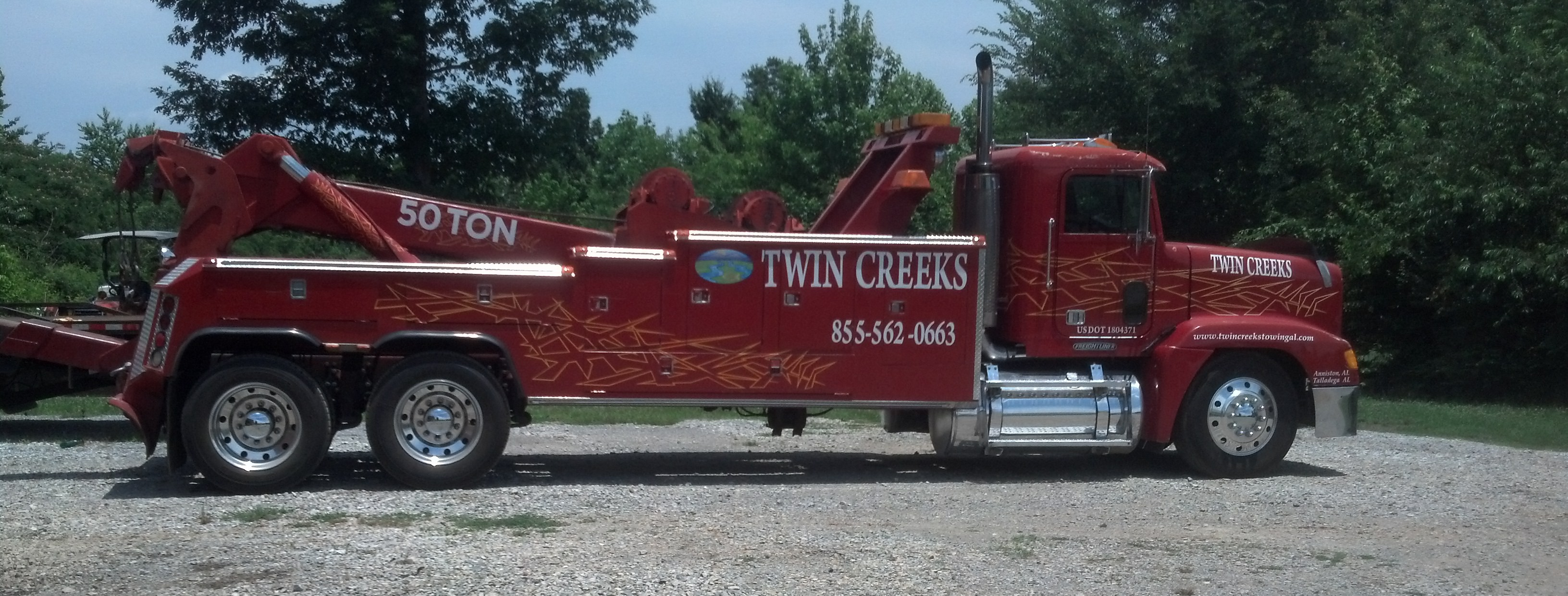 Tractor Trailer Towing Services for Anniston, AL