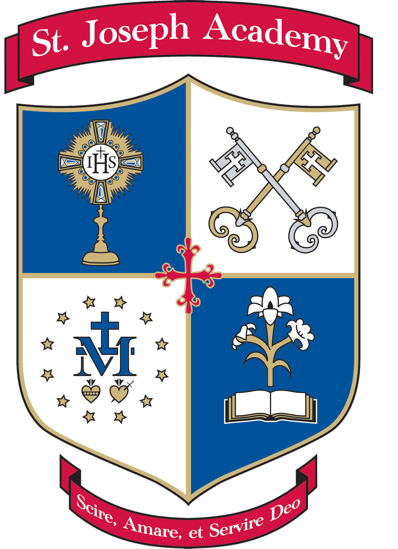 Saint Joseph Academy header logo