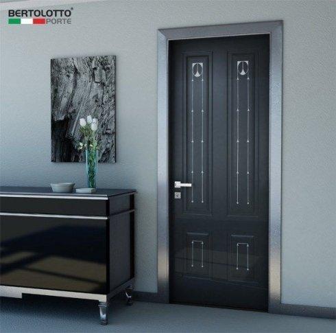 porte in legno, porte nere, porte con decorazioni
