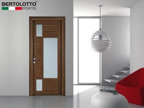 porte in legno, porte legno e vetro, porte con elementi in vetro