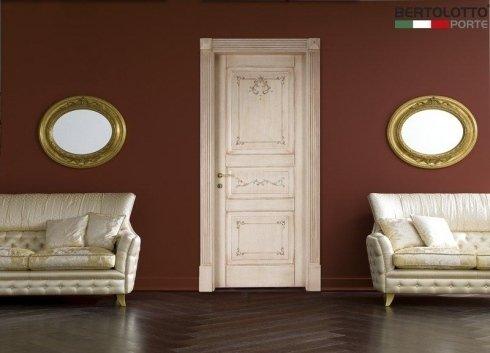 porte in stile antico, porte in stile barocco, porte con decori dorati