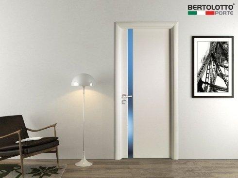 porta con vetro, porta bianca, porta design