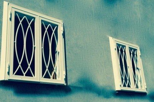 Infissi in ferro blindati e decorati