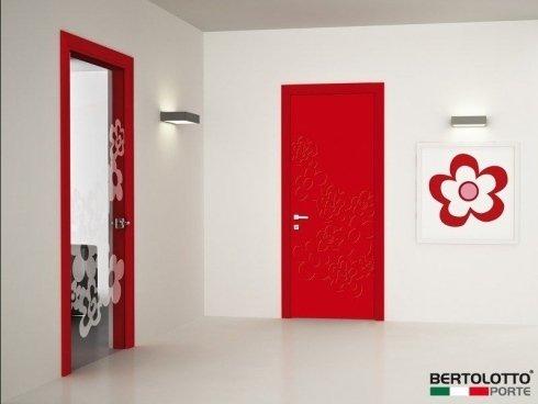 porte rosse, porte design, porte in stile moderno