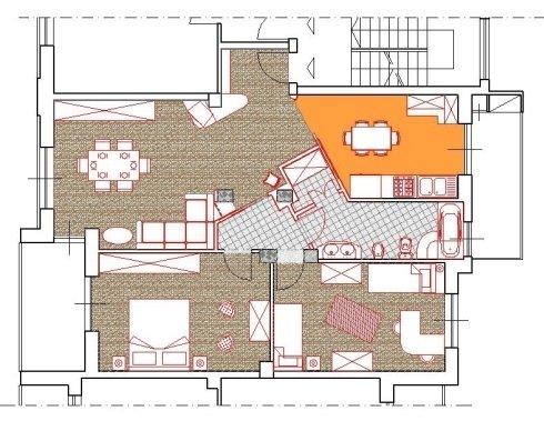 progetto di ristrutturazione alloggio