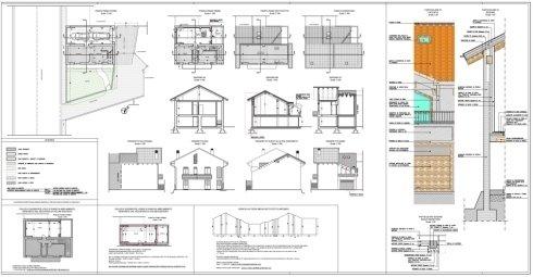 progetto di ristrutturazione con ampliamento edificio residenziale