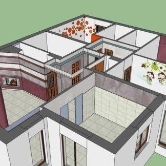 3d casa