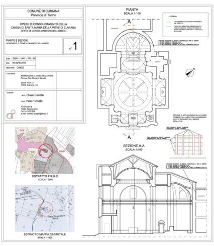 consolidamento abside della chiesa