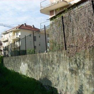 Muro recinzione Pinerolo