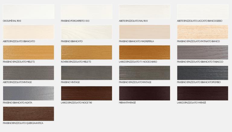 ediltecno - finiture infissi in legno