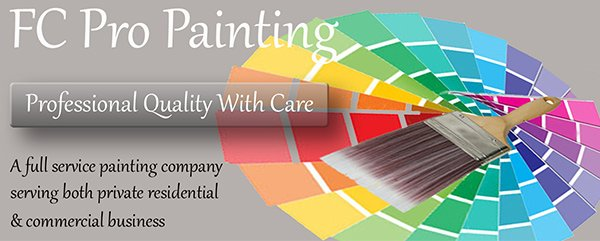 fc pro painting business logo