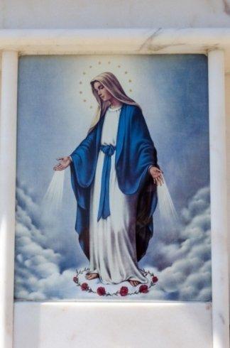 Icone religiose per lapidi, onoranze funebri, affissioni di avvisi funebri