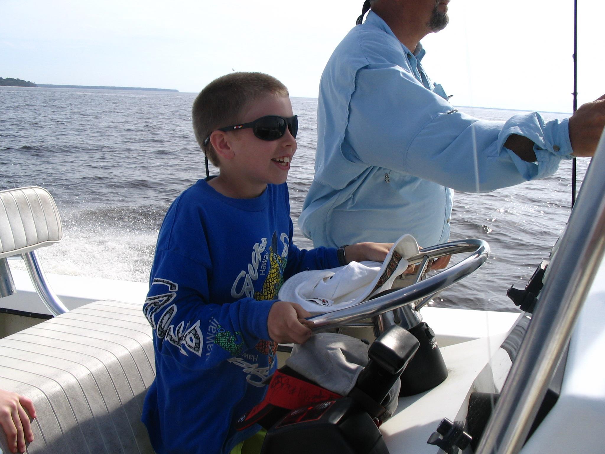st simons kids fishing trips