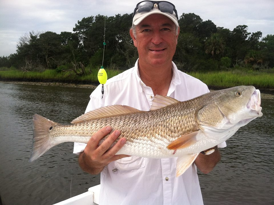 best charter fishing guide sea island
