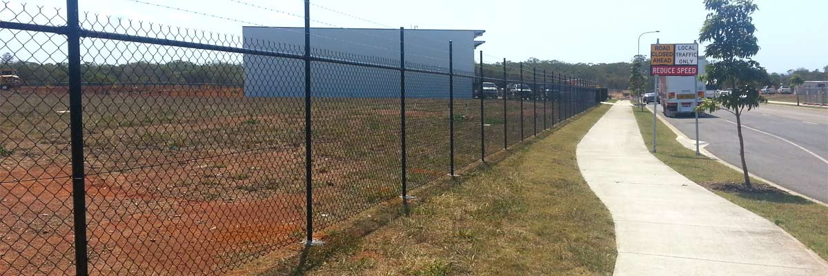 sureline fencing full stretch security fencing installed
