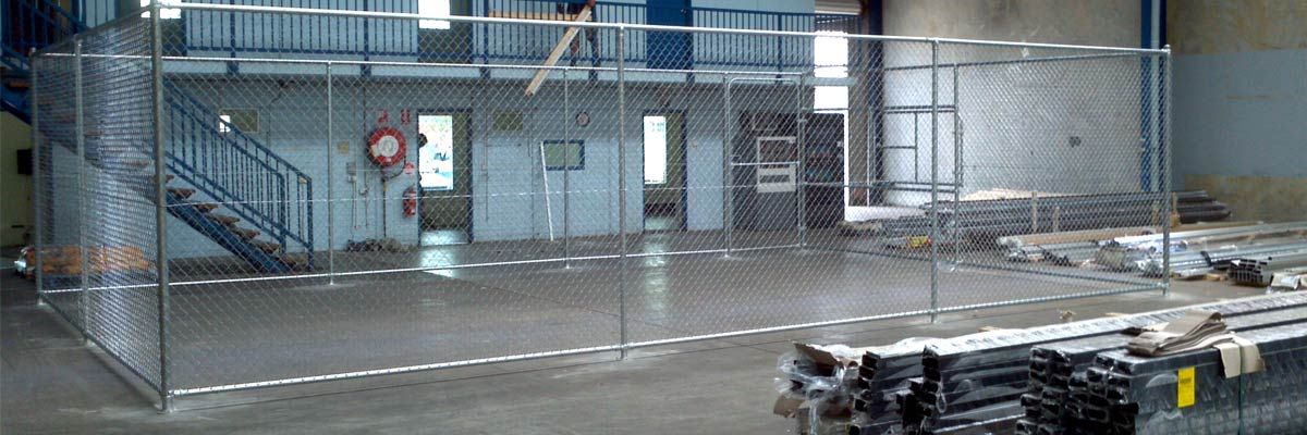 sureline fencing storage for equipment in industry