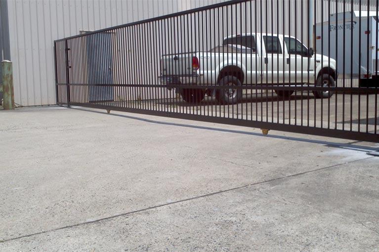 sureline fencing sliding gates