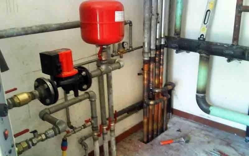 Centrale termica installata a opera d