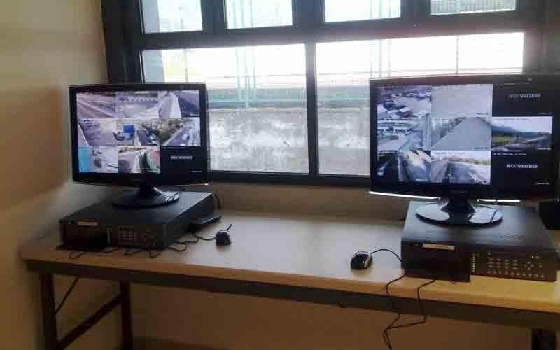 Computer collegati alla telecamera