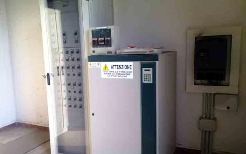 Cabina MT-BT installata a Pagani (SA)