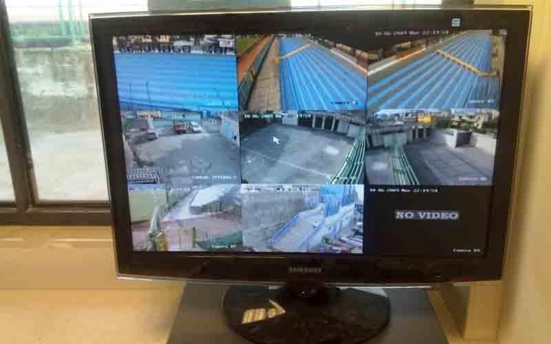 Sistema di videosorveglianza allo stadio di Pagani