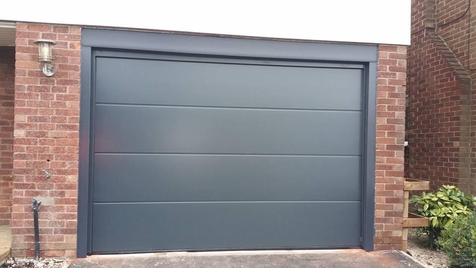 Merveilleux Dark Grey Coloured Door