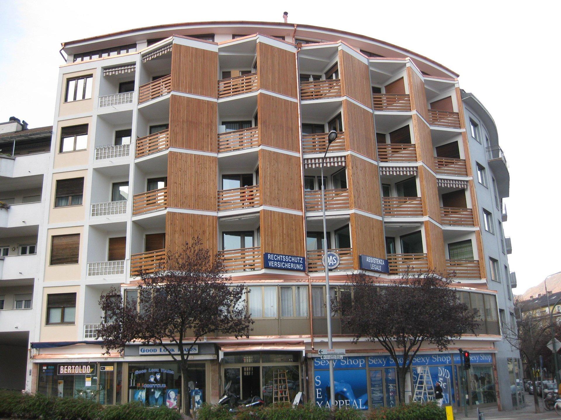 palazzo ristrutturato