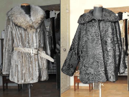 Pelliccia lapin-murmasky e pelliccia di persiano