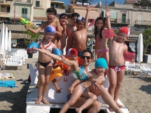 lezioni di piscina per bambini