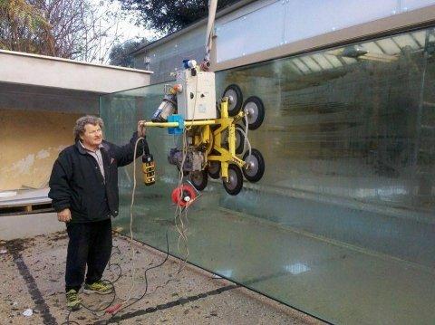 installazione vetrate
